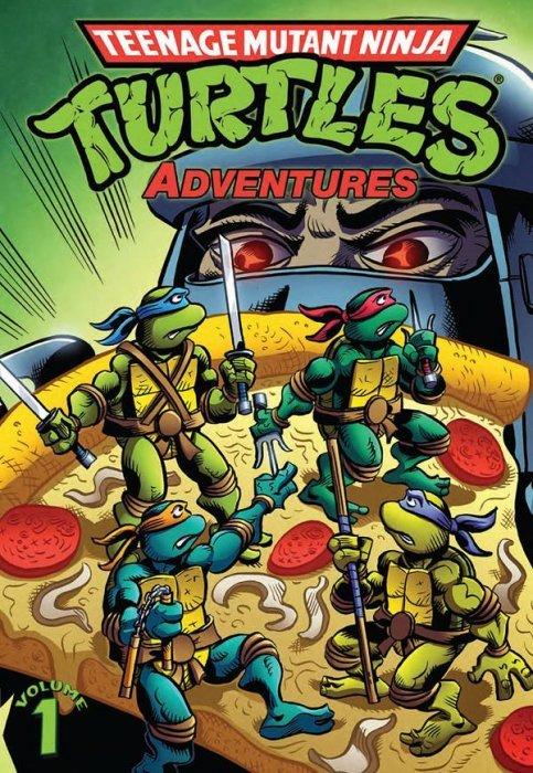 Teenage mutant ninja turtles adventures tpb 1 idw publishing
