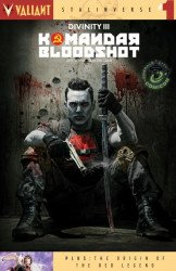 Valiant Entertainment's Divinity III: Komandar Bloodshot Issue # 1eccc-b