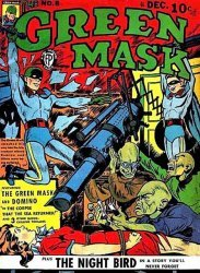 Fox Feature Syndicate's The Green Mask Issue # 8