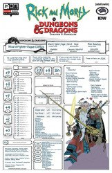 Oni Press's Rick and Morty vs Dungeons & Dragons: Chapter II - Painscape Issue # 4c