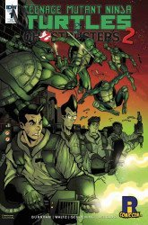 IDW Publishing's Teenage Mutant Ninja Turtles / Ghostbusters II Issue # 1ricc