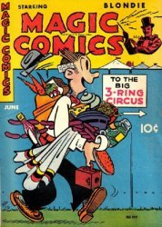 David McKay Publications's Magic Comics Issue # 107