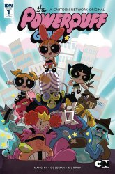 IDW Publishing's Powerpuff Girls: Time Tie Issue # 1ri