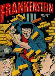 Prize Publications's Frankenstein  Issue # 21