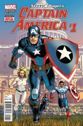 Marvel Comics's Captain America: Steve Rogers Issue # 1