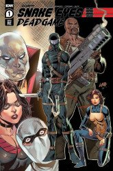 IDW Publishing's Snake Eyes: Deadgame Issue # 1liefeldcreations-a