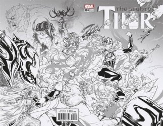Marvel Comics's The Mighty Thor Issue # 700d