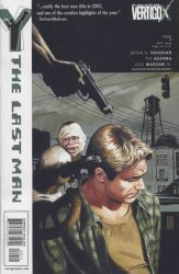 Vertigo's Y: The Last Man Issue # 9