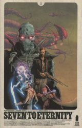 Image's Seven to Eternity Issue # 1 - 2nd print
