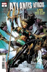 Marvel Comics's Atlantis Attacks Issue # 4