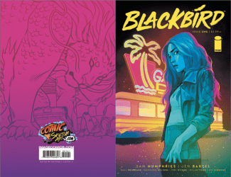 Image Comics's Blackbird Issue # 1comicsketchart