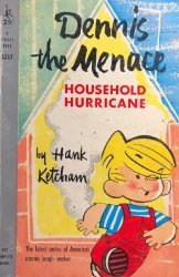 Pocket Books's Dennis the Menace: Household Hurricane Soft Cover # 1217-3rd print