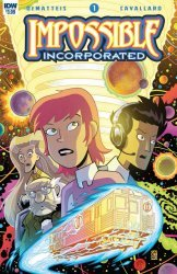 IDW Publishing's Impossible Inc. Issue # 1