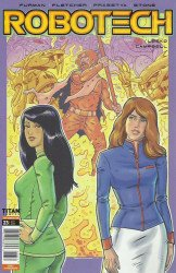 Titan Comics's Robotech Issue # 23c