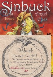 Wild Angels Publishing's Sinbuck : Angel Eyes Special # 1-5set