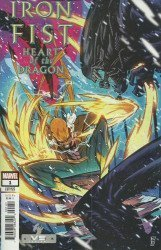 Marvel Comics's Iron Fist: Heart of the Dragon Issue # 1d