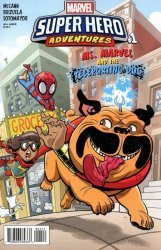 Marvel Comics's Marvel Super Hero Adventures: Ms. Marvel and the Teleporting Dog Issue # 1