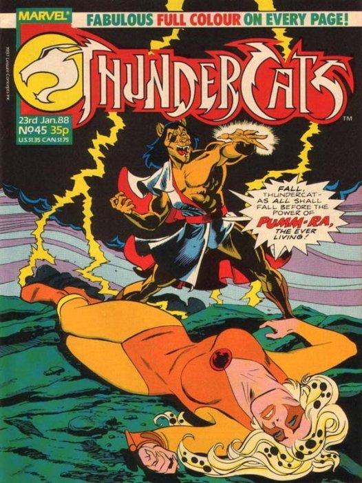 Thundercats Issue 61 Marvel UK Comic Magazine