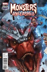 Marvel Comics's Monsters Unleashed Issue # 4g