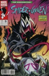 Marvel Comics's Spider-Gwen Issue # 25 - 2nd print