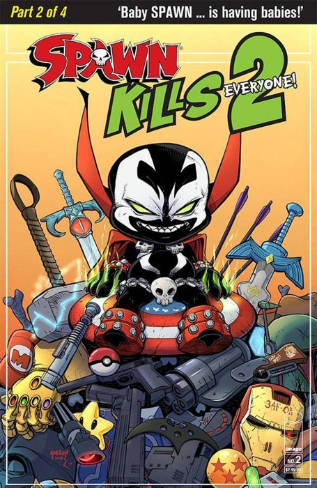 Spawn Kills Everyone Too #2 A Cover Image VF//NM Comics Book