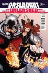 Marvel Comics's Onslaught Unleashed Issue # 2