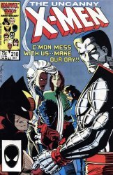 Marvel Comics's The Uncanny X-Men Issue # 210