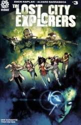 After-Shock Comics's Lost City Explorers Issue # 3