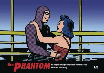 Hermes Press's The Phantom: Complete Newspaper Dailies Hard Cover # 12