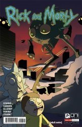 Oni Press's Rick and Morty Issue # 26
