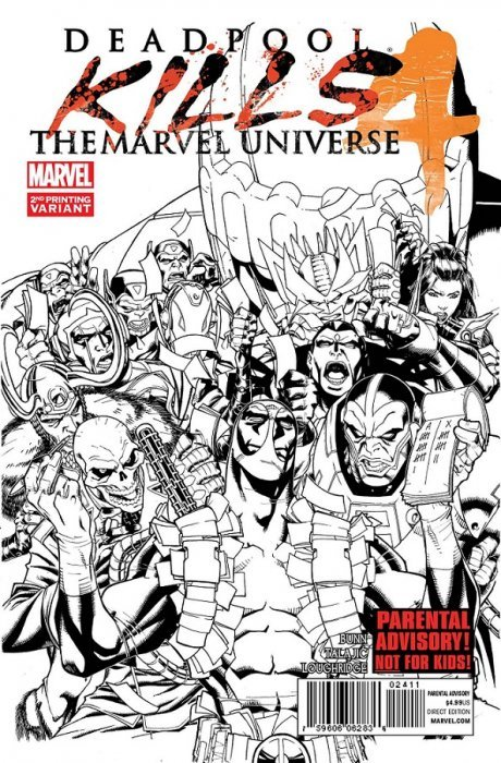 Deadpool Kills The Marvel Universe 4 2nd Print Marvel Comics