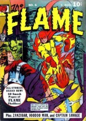 Fox Publications's The Flame Issue # 6