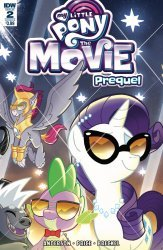 IDW Publishing's My Little Pony: Movie Prequel Issue # 2b