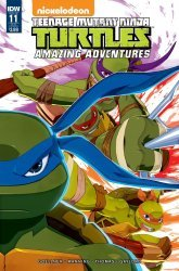 IDW Publishing's Teenage Mutant Ninja Turtles: Amazing Adventures Issue # 11sub