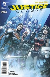 DC Comics's Justice League Issue # 34