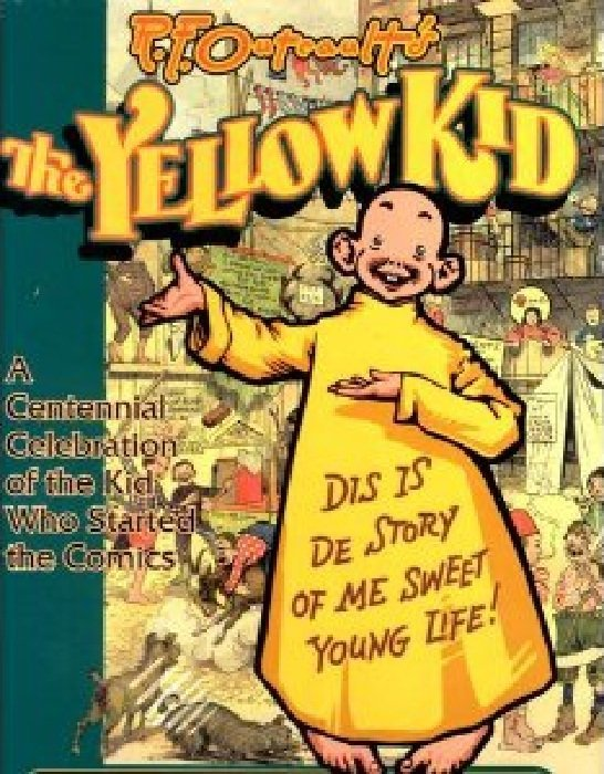 The Yellow Kid Soft Cover 1 Kitchen Sink Comix
