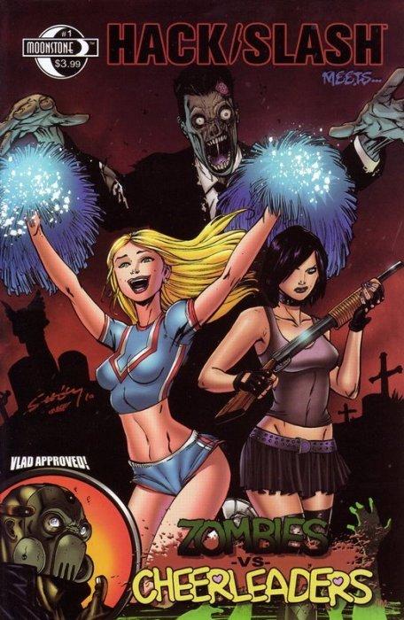 Hack Slash Meets Zombies vs Cheerleaders #1 NM- Moonstone