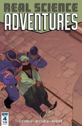 IDW Publishing's Real Science Adventures Nicodemus Job Issue # 4