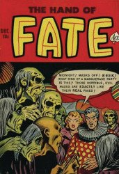 PS Artbooks's Pre-Code Classics: Hand of Fate Hard Cover # 2b