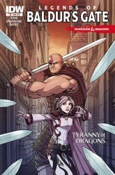 IDW Publishing's Dungeons & Dragons: The Legends of Baldurs Gate Issue # 1sub