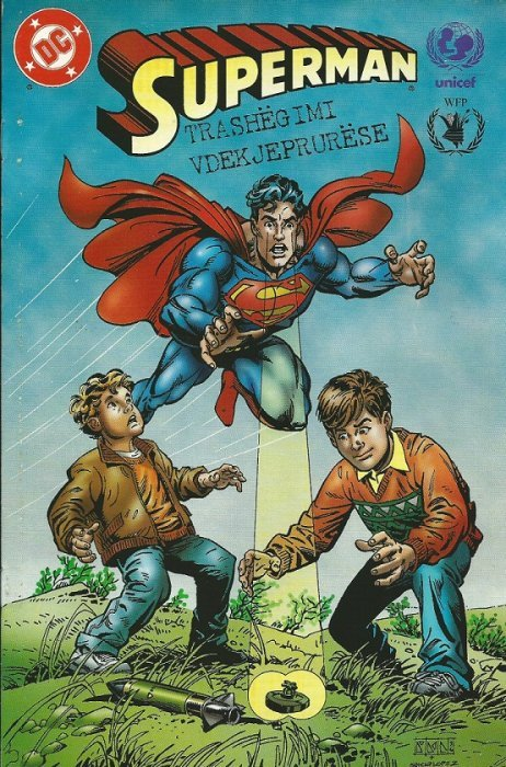 """Superman: The Animated Series, Episodes 53-54 – """"Legacy ...   Superman Legacy"""