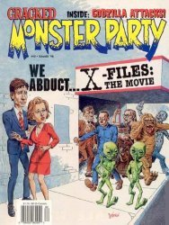 Globe Communications's Cracked: Monster Party Issue # 40