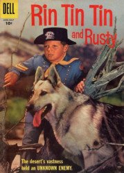 Dell Publishing Co.'s Rin Tin Tin Issue # 19