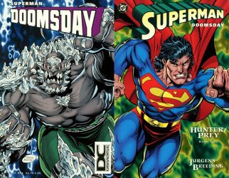 DC Comics's Superman / Doomsday: Hunter / Prey Issue # 2b