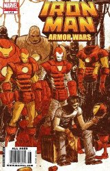 Marvel Comics's Iron Man & the Armor Wars Issue # 1b