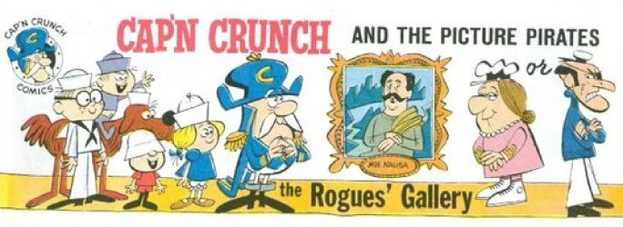 Quaker Cereals Comics's Cap'n Crunch Comics Issue # 1963 A