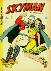 Columbia Comics Group's Skyman Issue # 3
