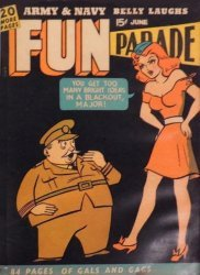 Harvey Publications's Army and Navy Fun Parade Issue V1-7