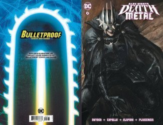 DC Comics's Dark Nights: Death Metal Issue # 6bulletproof-a