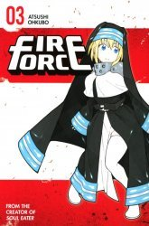 Kodansha Comics's Fire Force Soft Cover # 3